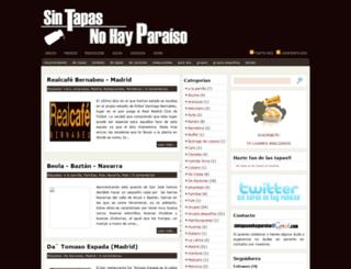 sintapasnohayparaiso.blogspot.com screenshot