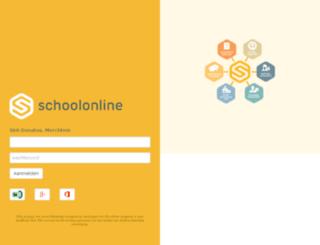 sintdonatus.schoolonline.be screenshot