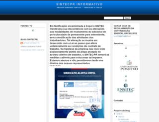 sintecpr.blogspot.com.br screenshot