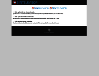 sintelevisor.com screenshot