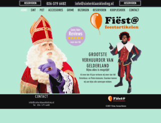 sinterklaaskleding.nl screenshot