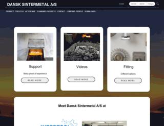 sintermetal.com screenshot