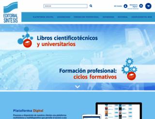 sintesis.com screenshot
