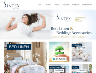 sintex.com.sg screenshot