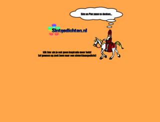 sintgedichten.nl screenshot