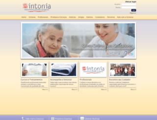 sintoniaren.com.br screenshot