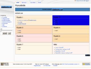 sintorn.se screenshot