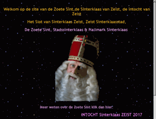 sintzoetermeer.spanjeweb.nl screenshot