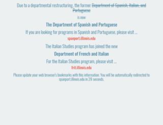 sip.uiuc.edu screenshot