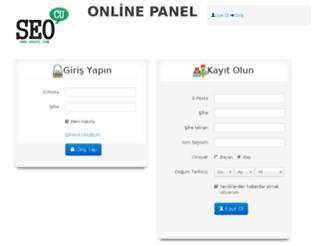 siparis.seocu.com screenshot
