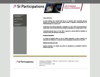siparticipations.com screenshot