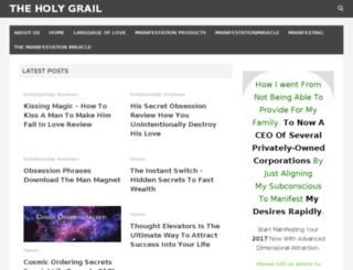 sipfromtheholygrail.com screenshot