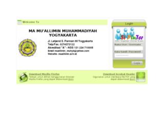 sipinter-ma.muallimin.sch.id screenshot