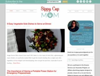 sippycupmom.com screenshot