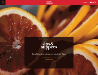 sipsandsuppers.org screenshot