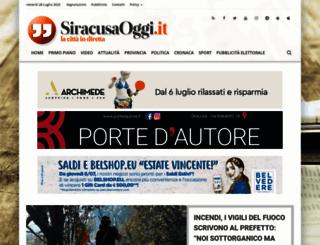 siracusaoggi.it screenshot