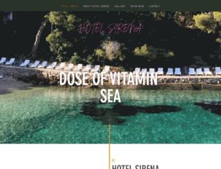 sirenahvar.com screenshot