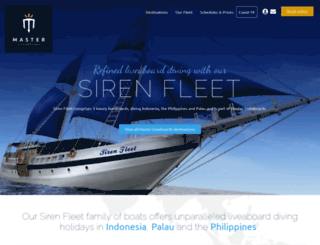 sirenfleet.com screenshot