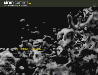 sirenpr.co.uk screenshot