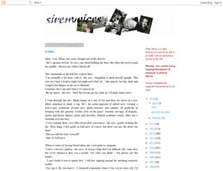 sirenvoices.blogspot.co.uk screenshot