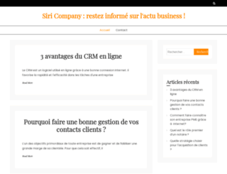 siricompany.com screenshot