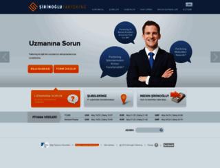 sirinoglufactoring.com screenshot