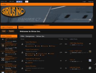 siriusinc.enjin.com screenshot