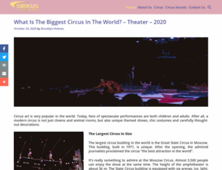 sirkusflorentino.com screenshot