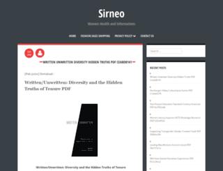 sirneo.info screenshot
