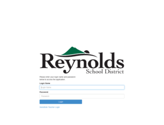 sis-reynolds.cascadetech.org screenshot