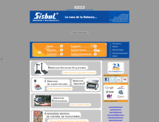 sisbal.com.ec screenshot