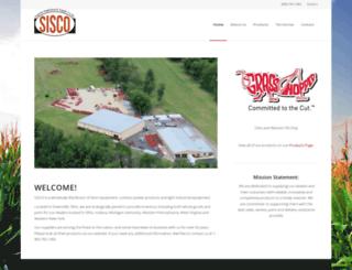 sisco-inc.com screenshot