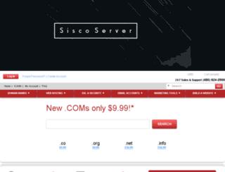 siscoserver.net screenshot