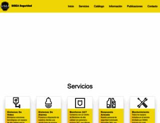 sisea.co.cr screenshot