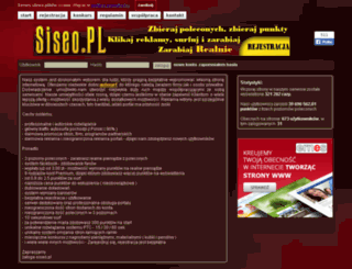 siseo.pl screenshot