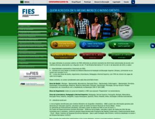 sisfiesportal.mec.gov.br screenshot