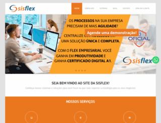sisflex.com.br screenshot