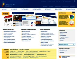 sisib.uchile.cl screenshot