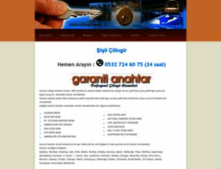 sisli-cilingir.net screenshot