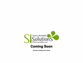sismallbiz.com screenshot