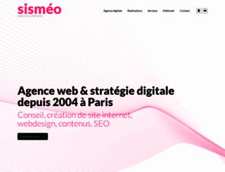 sismeo.net screenshot