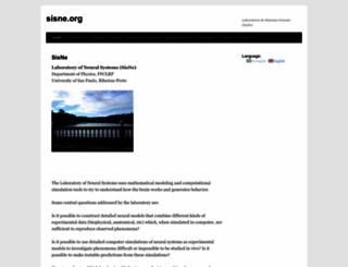 sisne.org screenshot