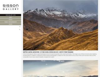 sisson.co.nz screenshot