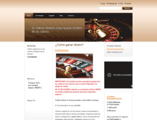 sistema-dinero.webnode.es screenshot