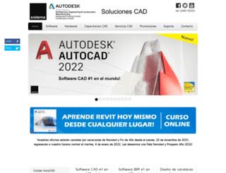 sistemacad.com screenshot