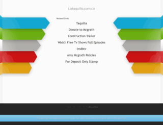 sistemadeboletos.lataquilla.com.co screenshot