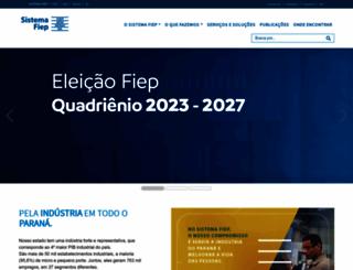 sistemafiep.org.br screenshot