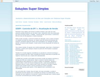 sistemassupersimples.blogspot.com.br screenshot