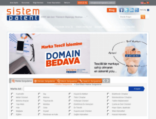 sistempatent.net screenshot