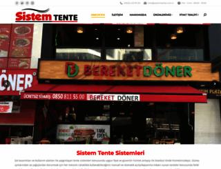 sistemtente.com.tr screenshot